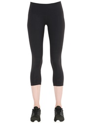 Prana Performance Microfiber Capri Leggings Black