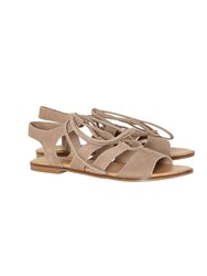 White Stuff Gladiator Sandal Tan