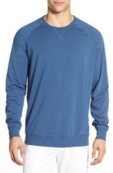 Men's Daniel Buchler Long Sleeve Cotton And Modal T Shirt