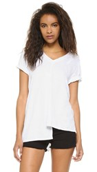 Wilt Extreme Shifted V Neck Tee White