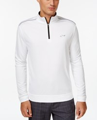 Greg Norman For Tasso Elba 1 4 Zip Pullover Bright White