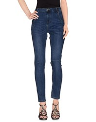 Silvian Heach Denim Denim Trousers Women Blue
