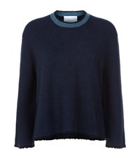 3.1 Phillip Lim Crew Neck Sweater Female Navy