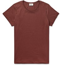 Acne Studios Standard O Cotton Jersey T Shirt Tomato Red