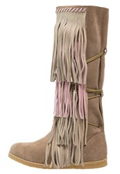 Colors Of California Cowboy Biker Boots Sand