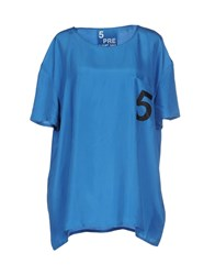 5Preview Shirts Blouses Women Azure
