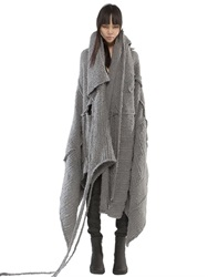 Demobaza Mahatma Wool Blend Blanket Cape