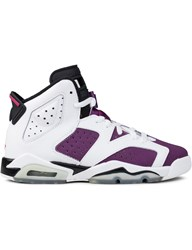 Jordan Brand Air 6 White Bright Grape Gs