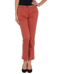 Shine Casual Pants Brick Red