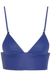 Alexander Wang Leather Bra Top
