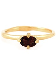 Wouters And Hendrix Garnet Ring Metallic
