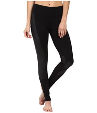Alo Yoga Accelerate Leggings Black Black Glossy Women's Casual Pants