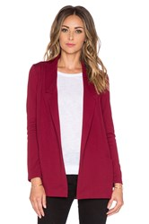Bishop Young Michelle Blazer Burgundy