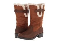 Trotters Blizzard Iii Cognac Smooth Faux Leather Women's Boots Brown