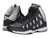 And 1 Unbreakable Black Silver White Men's Basketball Shoes