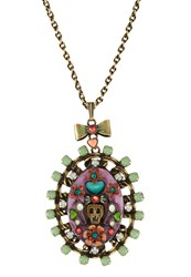 Konplott Arsenic Necklace Multi Multicoloured