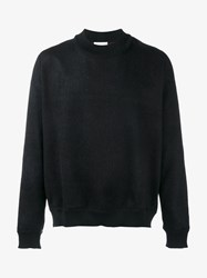 Stephan Schneider Wool Felt Sweater Black