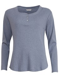 Cyberjammies Timeless Elegance Long Sleeve Pyjama Top Grey