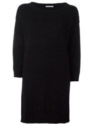 Societe Anonyme 'Noemi' Curved Pullover Black