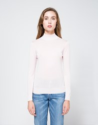 Objects Without Meaning Mock Neck L S In Pink