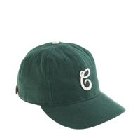 Ebbets Field Flannels For J.Crew Cleveland Green Sox Bull Denim Ball Cap