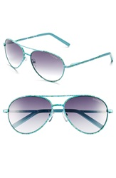 Lilly Pulitzer 'Augusta' 57Mm Sunglasses Blue Floral