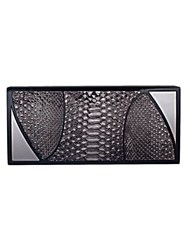 Khirma Eliazov 'Marchese' Box Clutch Grey