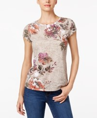 Inc International Concepts Floral Print T Shirt Only At Macy's Spring Breeze