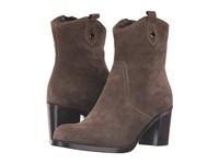 La Canadienne Phinn Stone Oiled Suede Women's Boots Gray