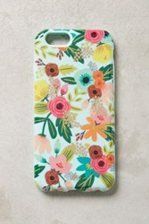 Anthropologie Gardenbloom Iphone 6 And 6 Plus Case Mint
