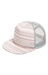 Rip Curl Women's 'Surf Bandit' Logo Trucker Hat Pink Dusty Rose