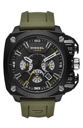 Men's Diesel 'Bamf' Chronograph Silicone Strap Watch 52Mm
