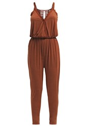 Khujo Thali Jumpsuit Rusty Red