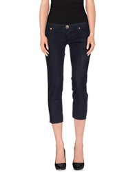 Two Women In The World Trousers 3 4 Length Trousers Women Dark Blue