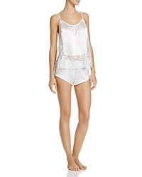 In Bloom By Jonquil The Bride Camisole And Shorts Pajama Set Ivory