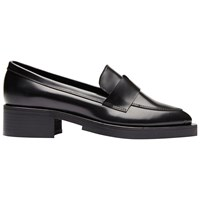 Selected Femme Merle Pointed Toe Loafers Navy