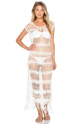 Pilyq Raven Dress Cover Up Ivory