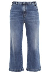 Marc O'polo Relaxed Fit Jeans Crush Wash Blue