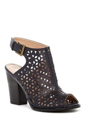 Restricted Willow Stacked Mule Black