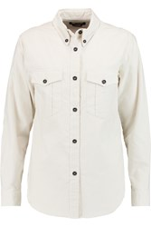 Isabel Marant Bastien Cotton Shirt White