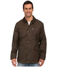 Filson Cover Cloth Mile Marker Coat Otter Green Men's Coat