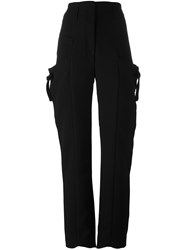 J.W.Anderson Utility High Waisted Pants Black