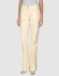 Jeans Les Copains Casual Pants Light Yellow