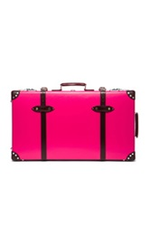 Globe Trotter 30' Limited Edition Candy Suitcase With Wheels In Pink