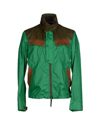 Henry Cotton's Coats And Jackets Jackets Men Green