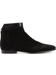 Paul And Joe 'Waris' Lace Up Boots Black