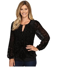 Hale Bob Throughout The Looking Glass Top Black Women's Clothing