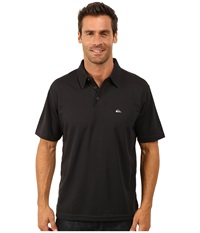 Quiksilver Waterman Waterman Collection Water Polo 2 Knit Polo Black 1 Men's Short Sleeve Pullover