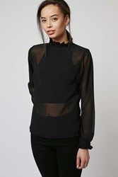 Heath Blouse By Motel Black
