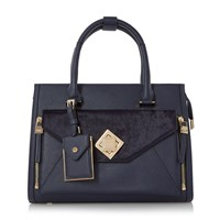 Dune Deevva Removable Clutch Bag Tote Bag Navy